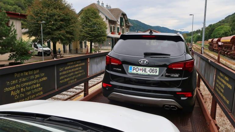 Autotrein in Slovenië