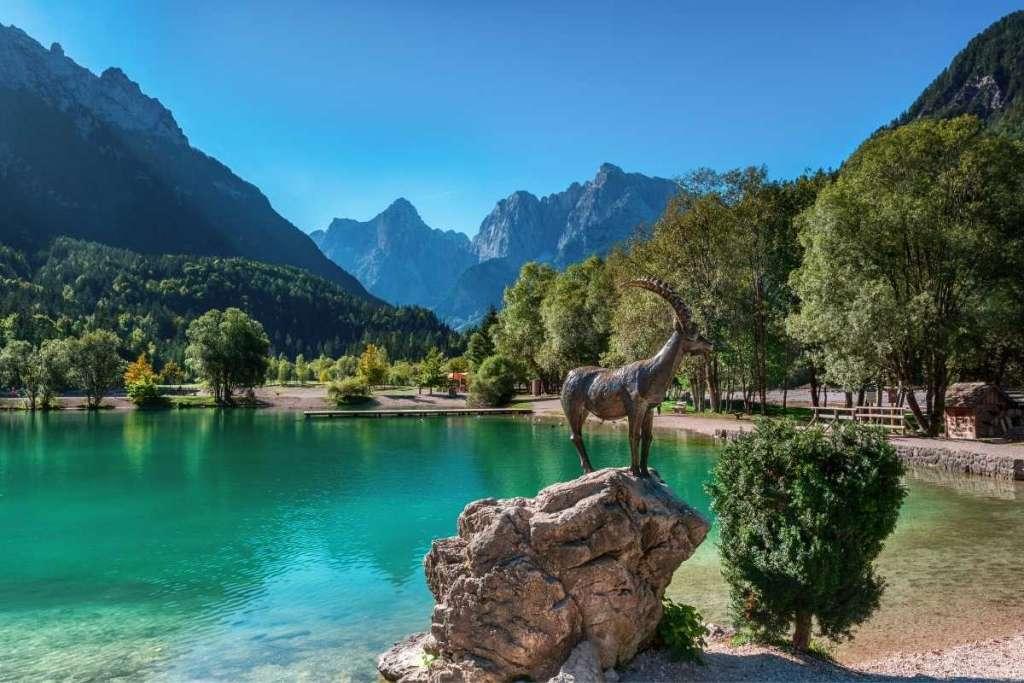 Lake Jasna meer Slovenie